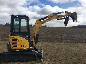 Gehl Z25 Excavator $599 Lease