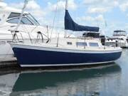 Space Sailer 24ft nice yacht just antifouled & 4 stroke outboard Lane Cove Lane Cove Area Preview