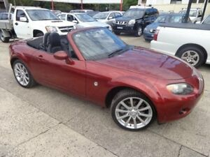 2006 Mazda MX-5 NC MY06 Upgrade Coupe Maroon 6 Speed Auto Activematic Roadster Sylvania Sutherland Area Preview