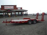 10ET-18 EQUIPMENT TRAILER BY BIG TEX **TAX IN PRICES** 10K GVWR