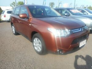2013 Mitsubishi Outlander ZJ MY13 ES 4WD Brown 6 Speed Constant Variable Wagon Winnellie Darwin City Preview