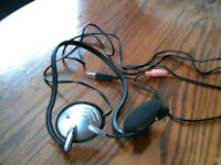 Logitech Headphones with attached mic, never used.3.00