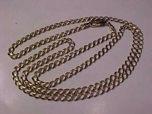 "**THINK CHRISTMAS**LAYAWAY WELCOIME#1259-QUALITY 27 1/2"" CURB LINK CHAIN-LOBSTER CLAW CLOSURE-PROFESSIONALLY POLISHED"
