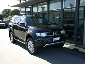 2012 Mitsubishi Challenger PB (KH) MY13 LS Black 5 Speed Sports Automatic Wagon Launceston Launceston Area Preview