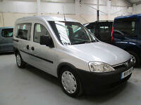 11 VAUXHALL COMBO TOUR WHEELCHAIR ADAPTED 50 + ADAPTED VEHICLES IN STOCK