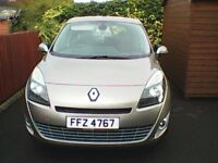 7 seater, renault grand scenic, full years mot. excellent condition.