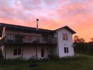 Beautiful House for Rent on Acreage in Pine Lake LAKE VIEW!