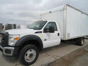 2011 Ford F-550 W/ Aluminum Van Body