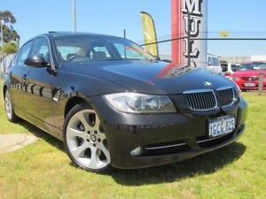 2008 BMW 335i E90 MY09 Steptronic Black 6 Speed Sports Automatic Sedan Wangara Wanneroo Area Preview