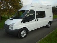 FORD TRANSIT 350 125PS MESS/WELFARE VAN 63 REG 103,000 MILES