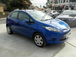 2012 Ford Fiesta WT CL Blue 6 Speed Automatic Hatchback Newtown Geelong City Preview