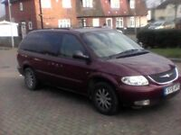 chrysler grand voyager 7 seater car spares and repairs or for someone who has time to fix the car