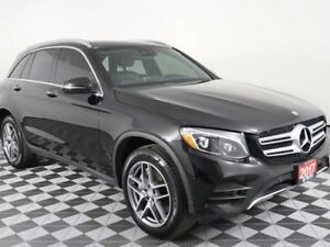 2017 Mercedes-Benz GLC GLC 300 w/PANO ROOF, HEATED LEATHER, NAVI