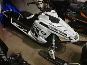 2014 Polaris RMK 800 Limited Edition 155 with Silber turbo.