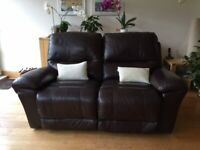 2-seater reclining sofa