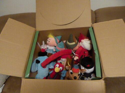 "9 Plush 12"" CVS Rudolph / Island of Misfit Toys With Original Display Box"