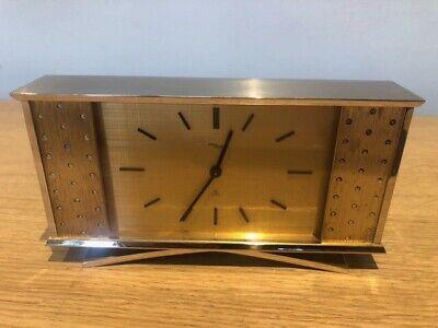 Stunning ..IMHOF..Eight Day Desk Clock / Mantel /  Shelf