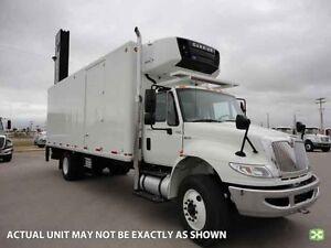 2014 International 4300 4x2, Used Reefer Van