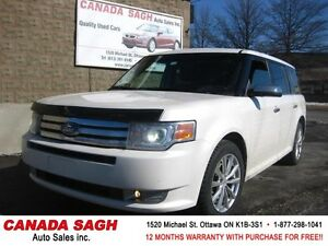 2009 Ford Flex Limited AWD/PANORAMIC/DVD/LTHR , 12M.WRTY $7500