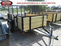 2015 Custom High sided utility trailers very handy ! deal direct