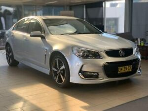 2017 Holden Commodore VF II MY17 SV6 Silver 6 Speed Sports Automatic Sedan Belconnen Belconnen Area Preview