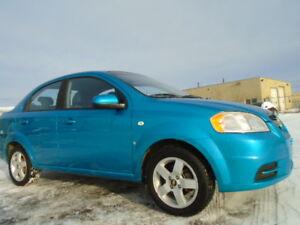 2008 Chevrolet Aveo LS-AMAZING ON GAS- 1.6L 4 CYL-ONLY 121,000KM