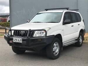 2005 Toyota Prado, 4x4 8 SEATER, DIESEL new T/BELT $14,990 !