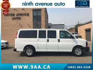 2014 GMC Savana 1500 1LS All-wheel Drive 8 passenger, 5.3 V8