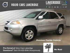 2004 Acura MDX Florida Vehicle no RUST!