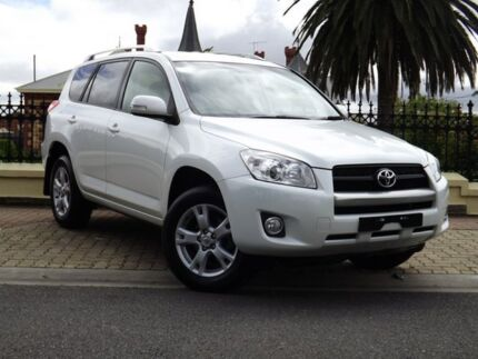 2011 Toyota RAV4 ACA33R MY11 Altitude White 4 Speed Automatic Wagon