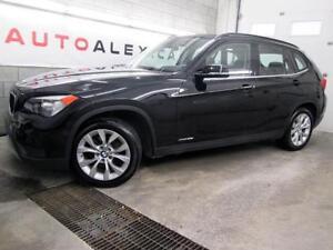 2014 BMW X1 xDrive28i CUIR TOIT PANOR. MAGS NOIR / NOIR