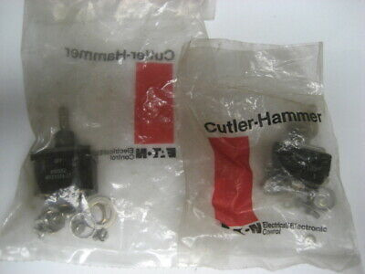 Cutler-hammer 8906k1167  Ms24524-27 Toggle Switch New In Original Sealed Bag
