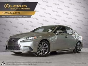 2016 Lexus IS 300 F SPORT series 2 All-wheel Drive (AWD)