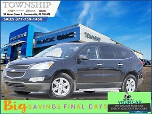 2012 Chevrolet Traverse LT w/2LT - $12/Day! - 3.6 L V6 - Heated