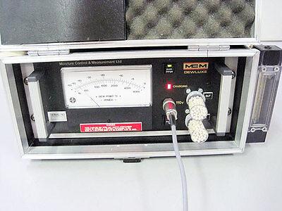 Mcm Dewluxe Moisture Analyzer Hygrometer W Accessories