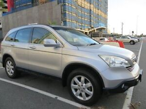 2007 Honda CR-V MY07 (4x4) Luxury Silver 5 Speed Automatic Wagon Southport Gold Coast City Preview
