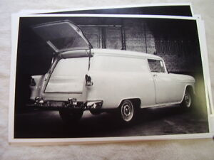 1955 CHEVROLET  150 SEDAN DELIVERY  11 X 17  PHOTO  PICTURE