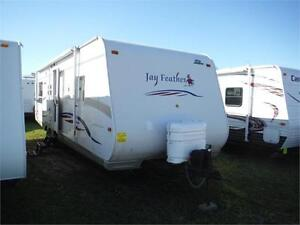 2007 Jayco Jay Feather 31V Ultra Lite Travel Trailer with slide