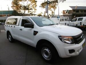 2012 Ford Ranger PX XL 2.2 (4x2) White 6 Speed Manual Cab Chassis Yagoona Bankstown Area Preview