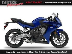 2015 Honda CBR650FAF - DEMO CLEARANCE ON NOW!