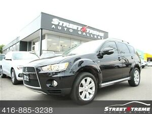2013 Mitsubishi Outlander XLS, BACKUP CAM,NO ACCIDENTS, 7 SEATER