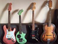 Guitars Job lot.