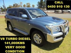 2008 Toyota Landcruiser VDJ200R GXL (4x4) Blue 6 Speed Automatic Wagon Wangara Wanneroo Area Preview