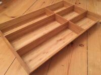 Ikea Variera Flatware / cutlery tray bamboo, brand new, 21386