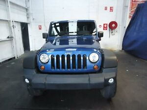 2010 Jeep Wrangler JK MY09 Sport (4x4) Blue 6 Speed Manual Softtop Cardiff Lake Macquarie Area Preview