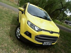 2014 Ford Ecosport BK Trend PwrShift Bright Yellow 6 Speed Sports Automatic Dual Clutch Wagon Mount Barker Mount Barker Area Preview