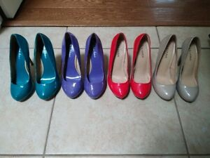 High heels, all size 7