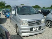 Nissan ELGRAND, Van, 3150cm3, Diesel, Not Mercedes Vito or Volkswagen Transporter