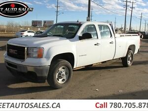 2012 GMC Sierra 2500HD 4X4 Crew Cab Long Box
