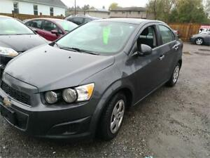 2013 Chevrolet Sonic LT-Sedan-Great on Gas-Certified.